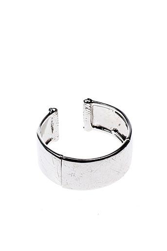 Bracelet Manchette gris MONET pour femme
