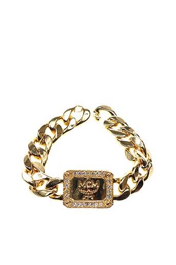 Bracelet jaune MCM pour femme