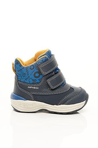 Bottines/Boots bleu GEOX pour garçon