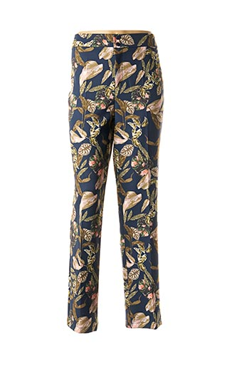 Pantalon casual bleu AN II VITO pour femme