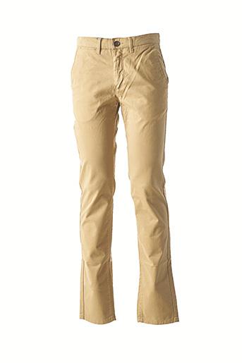 Pantalon casual beige CAMBRIDGE pour homme