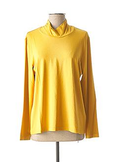 Sous-pull jaune GELCO pour femme