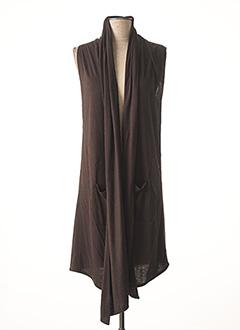 Veste casual marron BUGARRI pour femme