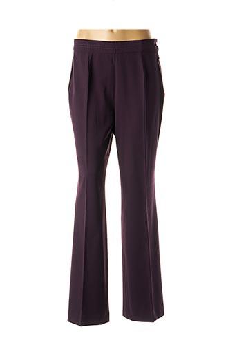 Pantalon chic violet ÇA ME PLAÎT pour femme