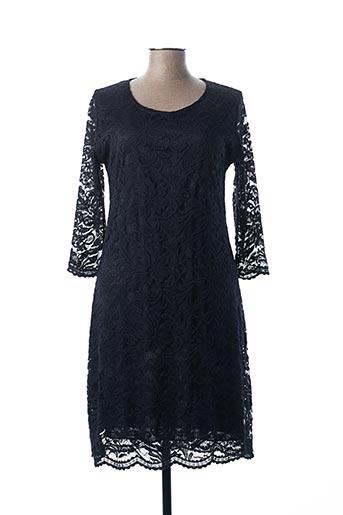 Robe mi-longue bleu ATLANTA pour femme