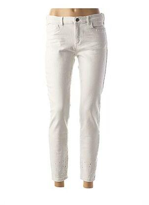 Pantalon casual blanc YAYA pour femme