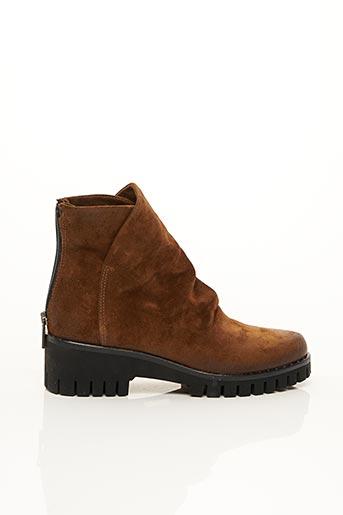 Bottines/Boots marron FABRICA DEI COLLI pour femme