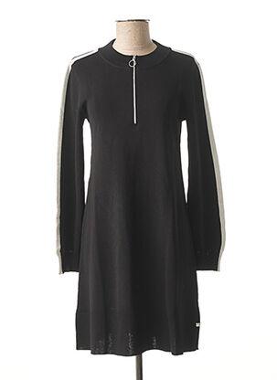 Robe pull noir I.CODE (By IKKS) pour femme