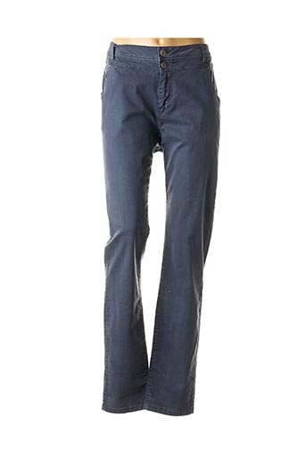 Pantalon casual bleu IMITZ pour femme