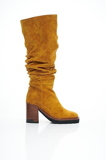 Bottes jaune BRUNO PREMI pour femme