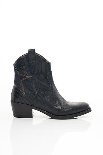 Bottines/Boots bleu COCO ET ABRICOT pour femme