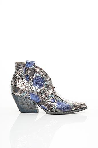 Bottines/Boots bleu ELENA LACHI pour femme