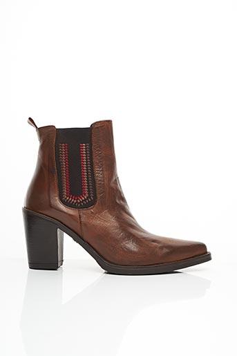Bottines/Boots marron EMANUELE CRASTO pour femme