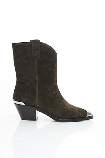 Bottines/Boots vert ASH pour femme