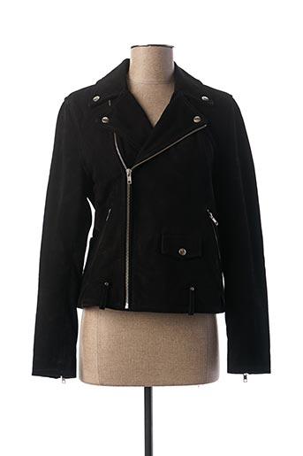 Veste casual noir REIKO pour femme