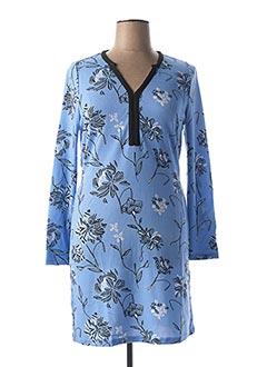 Robe mi-longue bleu LA FIANCEE DU MEKONG pour femme