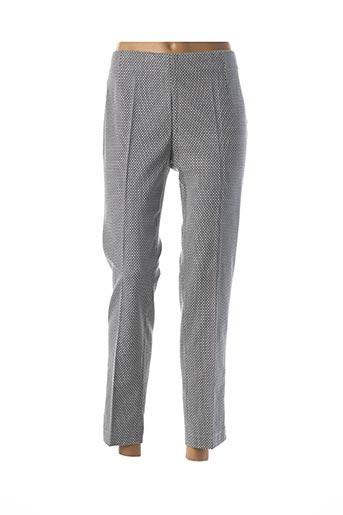 Pantalon 7/8 bleu ACHILLEA pour femme
