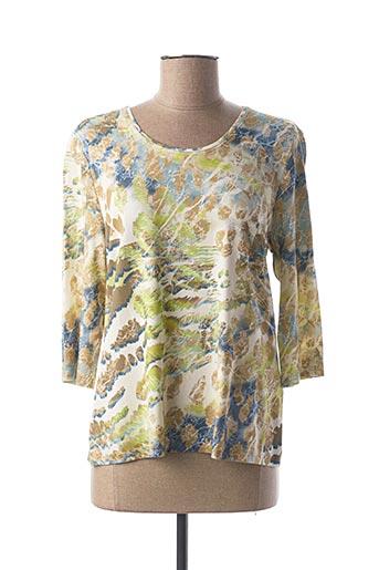 T-shirt manches longues vert LEBEK pour femme