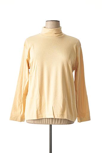 Sous-pull beige ACHEL pour femme