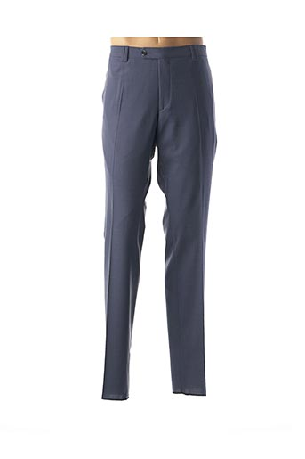 Pantalon chic bleu FITECOM pour homme