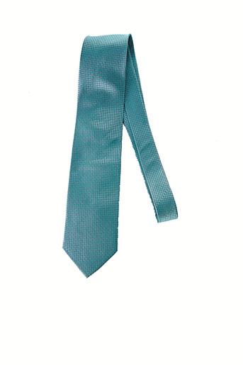 Cravate bleu JEAN-LOUIS SCHERRER pour homme