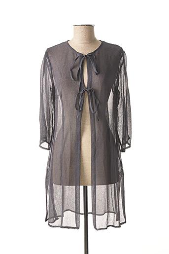 Veste casual gris EVALINKA pour femme