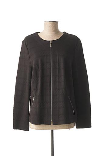 Veste casual noir LEBEK pour femme
