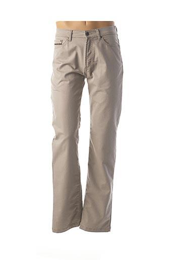 Pantalon casual beige MISE AU GREEN pour homme