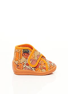Chaussons/Pantoufles orange BELLAMY pour fille