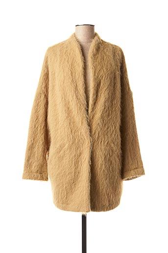 Veste chic / Blazer beige VOODOO pour femme