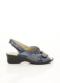 Sandales/Nu pieds bleu FARGEOT pour femme