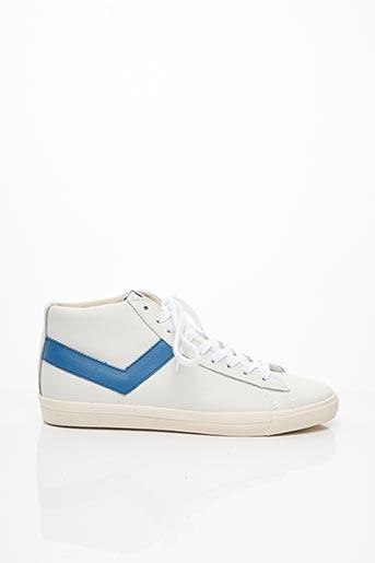 Baskets blanc PONY pour homme
