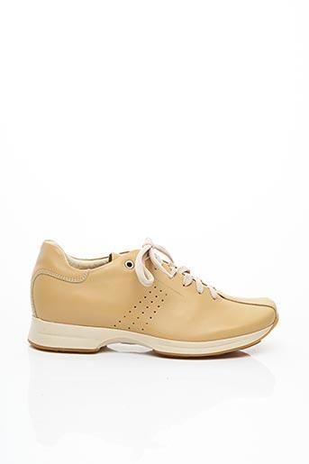 Baskets beige OXS pour femme