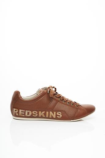 Baskets marron REDSKINS pour homme