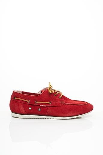 Chaussures bâteau rouge U.S. POLO ASSN pour homme