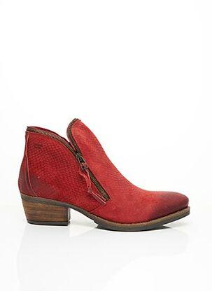 Bottines/Boots rouge COQUETERRA pour femme