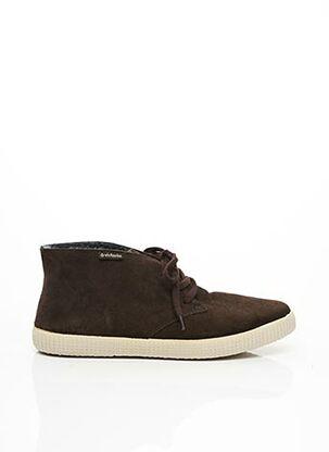 Bottines/Boots marron VICTORIA pour homme