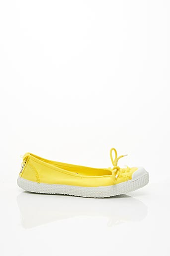 Ballerines jaune CHIPIE pour femme