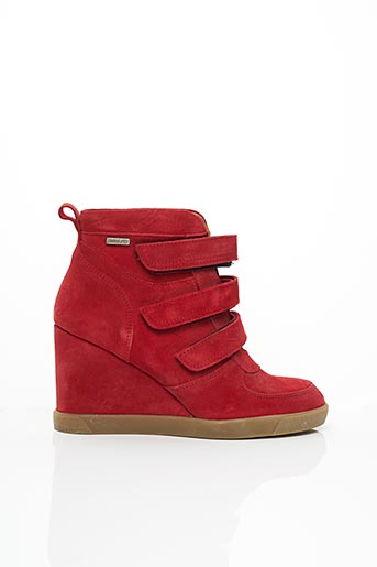 Baskets rouge BEE.FLY pour femme