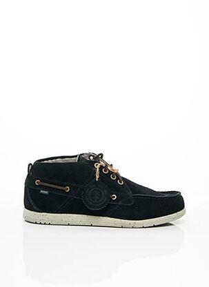 Chaussures bâteau noir ELEMENT pour homme