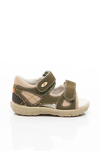 Sandales/Nu pieds vert FALCOTTO pour garçon