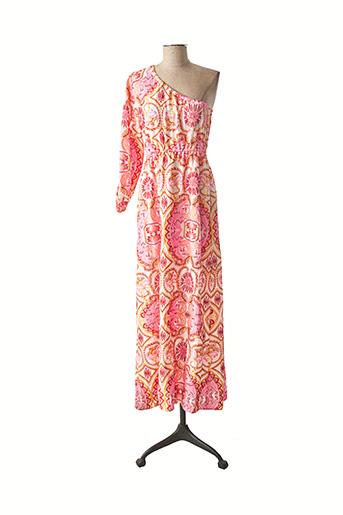 Robe longue rose VALERIE KHALFON pour femme
