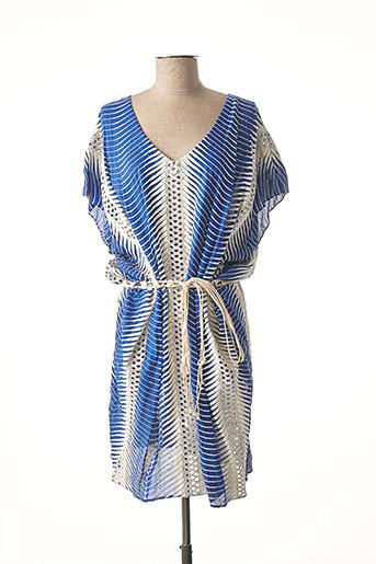 Robe mi-longue bleu VALERIE KHALFON pour femme