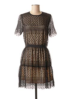 Robe courte noir VALERIE KHALFON pour femme