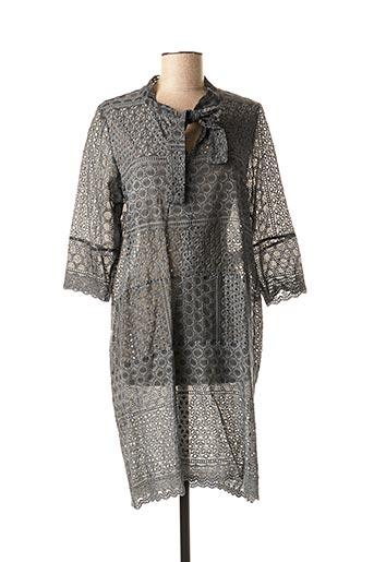 Robe mi-longue gris VALERIE KHALFON pour femme