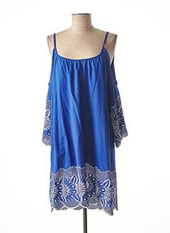 Tunique manches courtes bleu VALERIE KHALFON pour femme