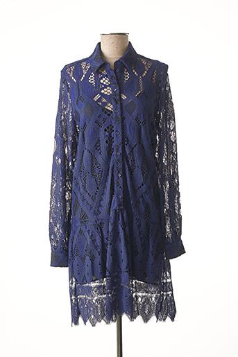 Tunique manches longues bleu VALERIE KHALFON pour femme