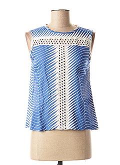 Top bleu VALERIE KHALFON pour femme