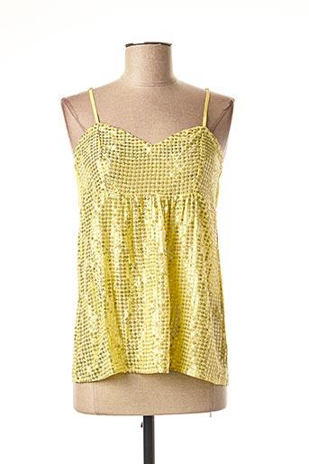 Top jaune VALERIE KHALFON pour femme