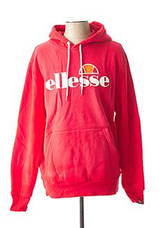 Sweat-shirt rouge ELLESSE pour homme